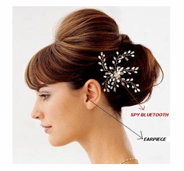 Bluetooth Hairclip Set