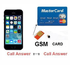 Earpiece GSM Card