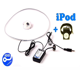 Invisible ipod mp3 player